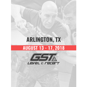 Re-Certification: Arlington, TX (August 13-17, 2018)