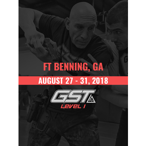 Level 1 Full Certification: Ft. Benning, GA (August 27-31, 2018)