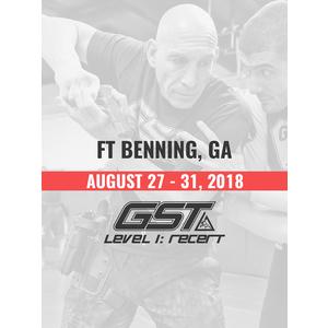 Re-Certification: Ft. Benning, GA (August 27-31, 2018)