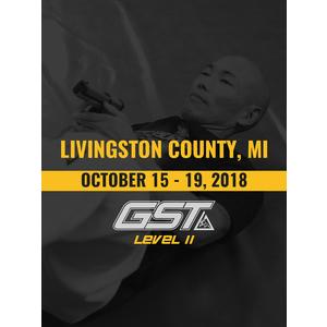 Level 2 Full Certification: Livingston County, MI (October 15-19, 2018)