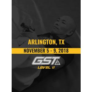 Level 2 Full Certification: Arlington, TX (November 5-9, 2018)