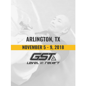Level 2 Re-Certification: Arlington, TX (November 5-9, 2018)