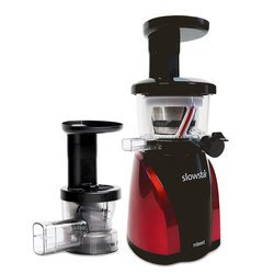 Tribest Slowstar SW-2000-B (Red) Juicer/Mincer, Free Ground Shipping (Continental US Only)