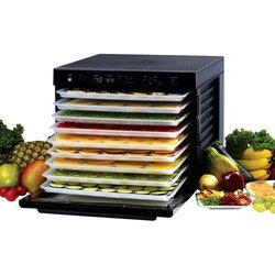 Tribest Sedona Classic SD-P9000-B Dehydrator, 9-Tray 120 Volt - Free Ground Shipping (Cont. US Only)