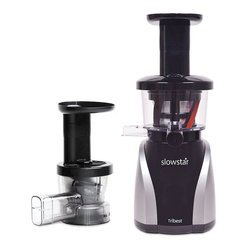 Tribest Slowstar SW-2020-B (Silver) Juicer/Mincer, Free Ground Shipping (Cont. US Only)