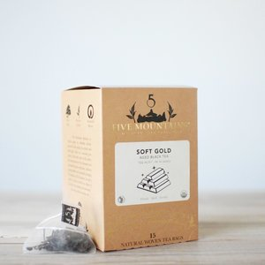 Detox Pu'er Retail Box: 15 Tea Sachets