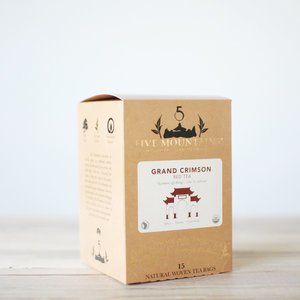 Grand Crimson (English Breakfast): 15 Tea Sachets