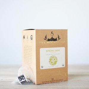 Spring Jade Green: 15 Tea Sachets