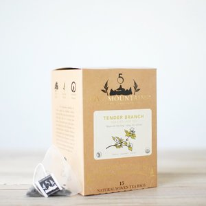 Roasted Tender Branch Oolong: 15 Tea Sachets