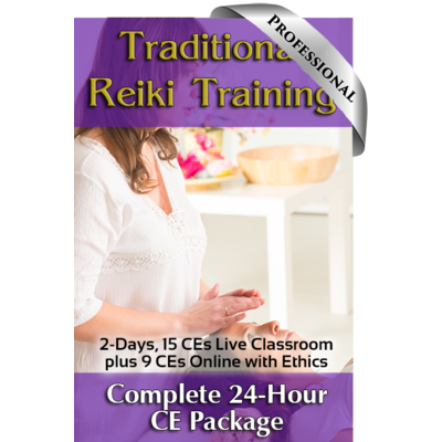 Traditional Reiki Training Professional Course Package