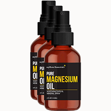 Pure Magnesium Oil - 3 Bottles (4 fl oz)