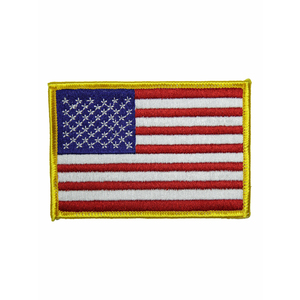 "(3.5x2.5"") American Flag Patch"