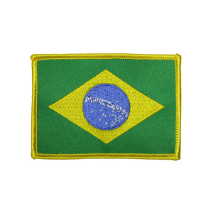 "(2x1.75"") Kids Brazilian Flag"