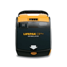 LIFEPAK CR Plus AED Semi-Automatic w/AHA Voice Prompt