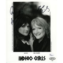 Indigo Girls Ray and Saliers Signed 8x10 Photo Certified Authentic JSA COA
