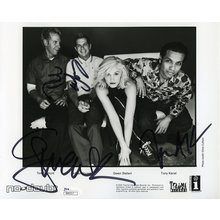 No Doubt Band Signed 8x10 Photo Certified Authentic JSA COA