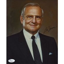 Lee Iacocca Signed 8x10 Photo Certified Authentic JSA COA