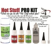 """""""New"""" Hot Stuff Pro Kit- Compete Glue set with Accelerator and debonder"""