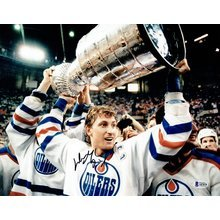 Wayne Gretzky Oilers Signed 11x14 Photo Certified Authentic Beckett BAS COA