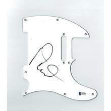 Ray Davies The Kinks Signed Guitar Pickguard Certified Authentic Beckett BAS COA