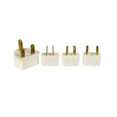 Power Adapter Plugs- International Set of 4