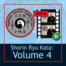 Shorin Ryu Kata: Volume 4 Digital Download