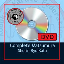 DVD- Complete Matsumura Shorin Ryu Kata
