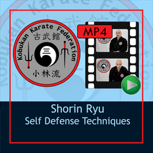 Digital Download - Shorin Ryu Self Defense Techniques