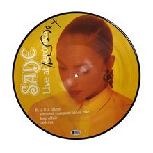 Sade Adu Picture Disc Album LP Certified Authentic Beckett BAS COA