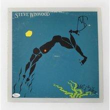 Steve Winwood Arc of a Diver Signed Record Album LP Certified Authentic JSA COA