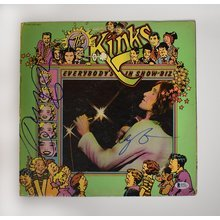 The Kinks Ray and Dave Davies Signed Record Album LP Certified Authentic Beckett BAS COA