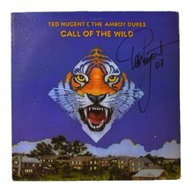 Ted Nugent Call of the Wild Signed Record Album LP Certified Authentic PSA/DNA COA