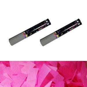 Pink Confetti Cannon