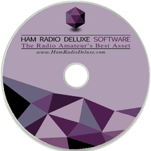 Ham Radio Deluxe Software on CD (software activation key sold separately)
