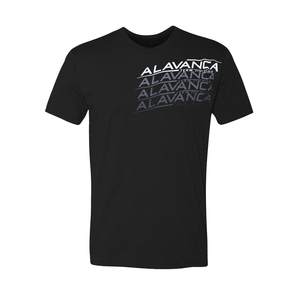 AV Repeat Tee (Black)