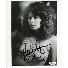 Debra Winger Cute Young Signed 8x10 Photo Certified Authentic JSA COA