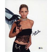Sarah Michelle Gellar Signed 8x10 Photo Certified Authentic Beckett BAS COA