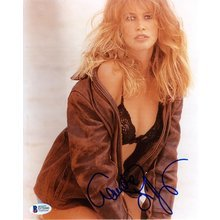 Claudia Schiffer Model Signed 8x10 Photo Certified Authentic Beckett BAS COA