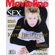 Kim Basinger Signed Magazine Cover Page 8x10 Photo Certified Authentic Beckett BAS COA