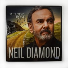 Neil Diamond Melody Road Signed Record Album LP Certified Authentic Beckett BAS COA