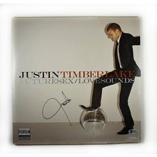 Justin Timberlake Futuresex Signed Record Album LP Certified Authentic Beckett BAS COA