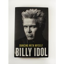 Billy Idol Dancing With Myself Signed Book Certified Authentic Beckett BAS COA