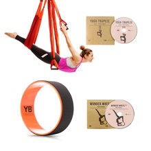Orange Yoga Trapeze® and Orange Wonder Wheel Bundle