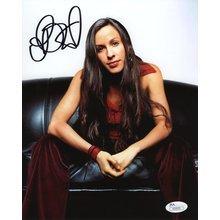 Alanis Morissette Signed 8x10 Photo Certified Authentic JSA COA