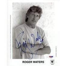 Roger Waters Pink Floyd Signed 8x10 Photo Certified Authentic PSA/DNA COA