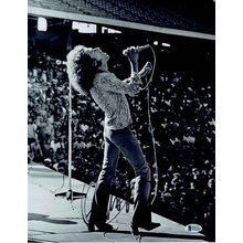 Roger Daltrey The Who Signed 11x14 Photo Certified Authentic Beckett BAS COA