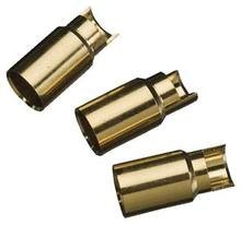Gold Bullet Conn Female 6mm (3)