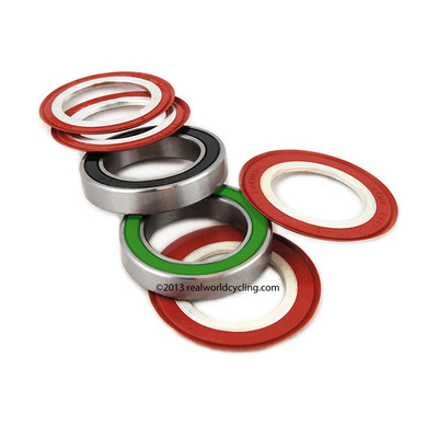 HT2 Angular Contact 440C Stainless Steel Bearing Kit