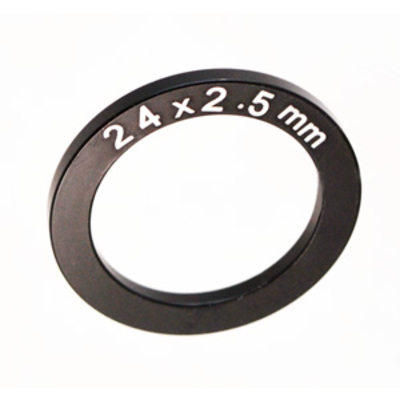 24MM ID X 2.5MM THICK SPINDLE SPACER, ALUM