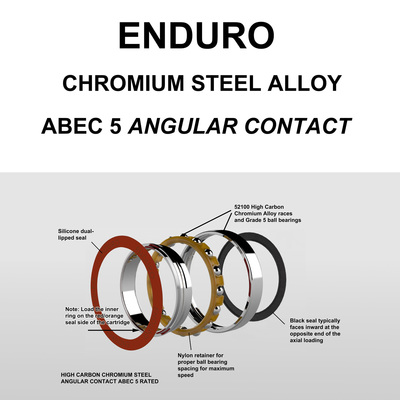 7802 ABEC 5 STL Bearing Angular Contact